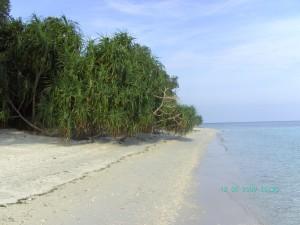 Sandstrand_Idylle auf Mantigue Island