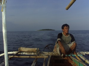 Bootsfahrt von Mahinog nach Mantigue Islan