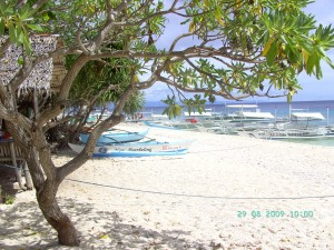 Sandstrand auf Balicasag nahe Panglao