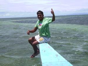 Auf dem Weg von Balicasag nach Virgin Island