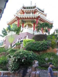 Der chinesische Tempel in Cebu City, Philippinen