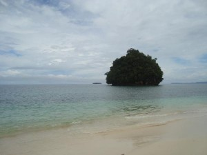 Kissing Islands im Osten von Mindanao