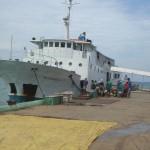 Reisebericht: mit dieser Fähre, mit Namen Milagrosa, konnte man 2008 von Ilo-Ilo nach Puerto Princes auf Palawan fahren
