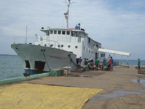 Mit dem Kutter von Cebu nach Palawan