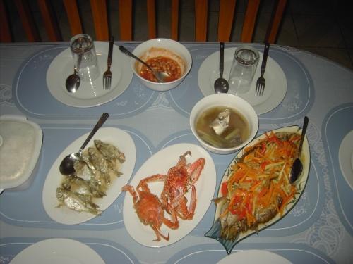 Auf den Philippinen werden viel Fisch und Seafood gegessen