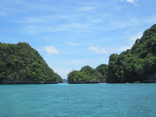 "Die ""Kisses Ilets"" in der Provinz Dinagat Islands laden zum Island-Hopping ein."