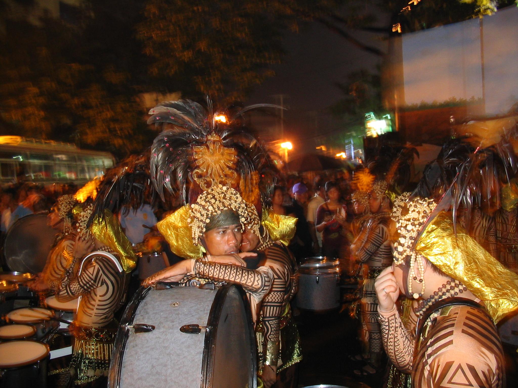 Das Sinulog Festival in Cebu-City, ritualer Tanz zu Ehren des Kindes Jesu