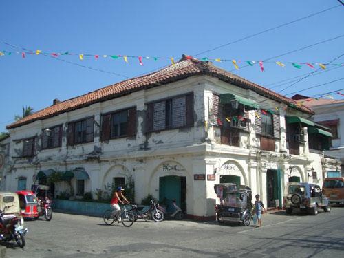 In Vigan City stehen noch viele Häuser, die den spanischen Einfluss aus der Kolonialzeit erkennen lassen