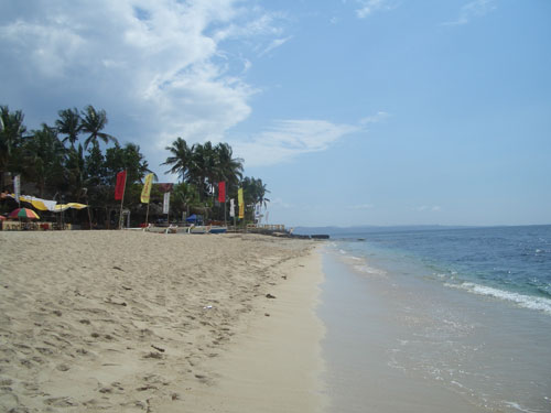 Pagudpud Beach im Norden Luzons auf den Philippinen