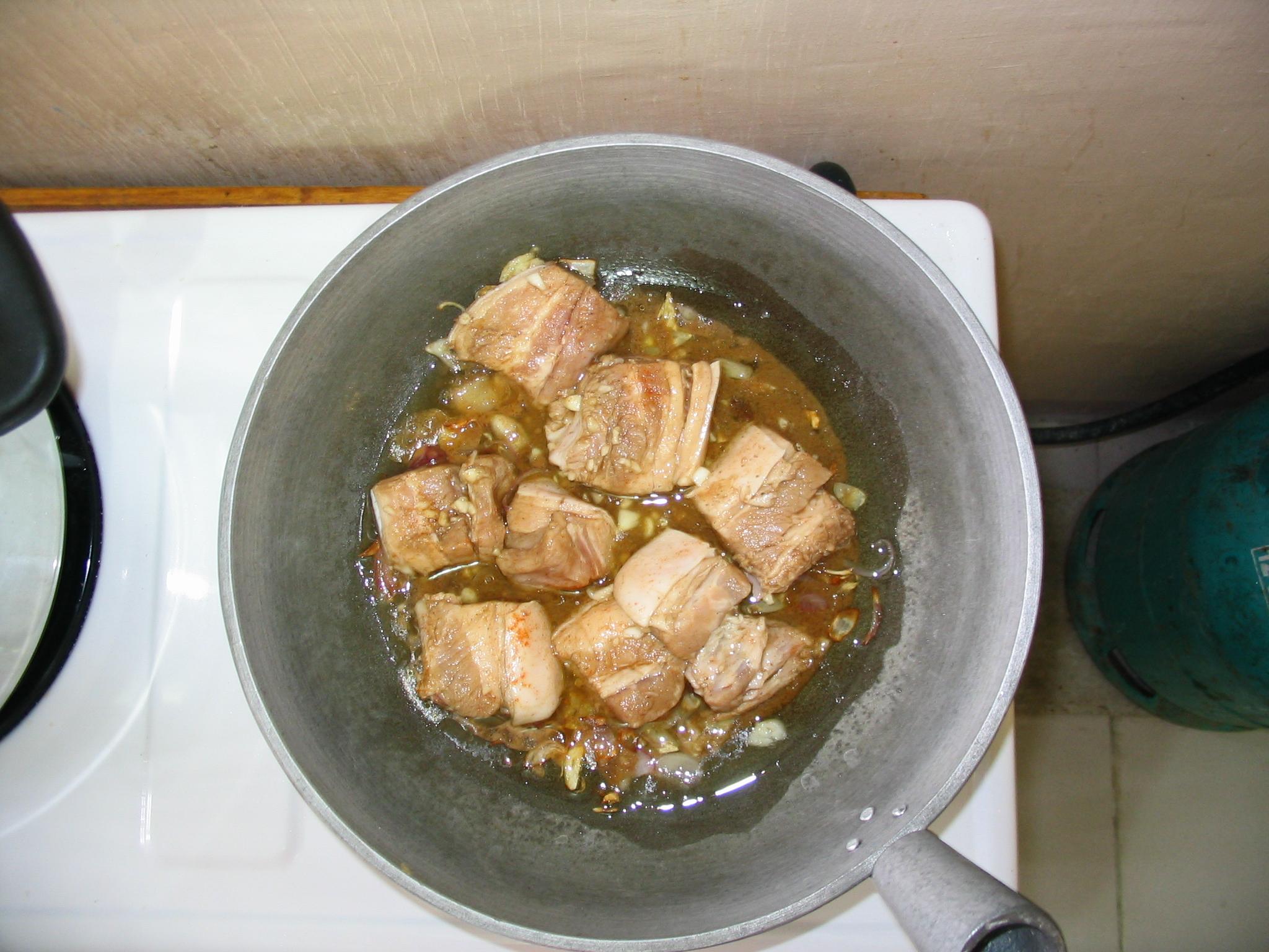 Pork Adobo, ein klassisches Gericht auf den Philippinen