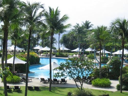 Das Shangri-La's Resort und Spa auf Mactan Island, Cebu