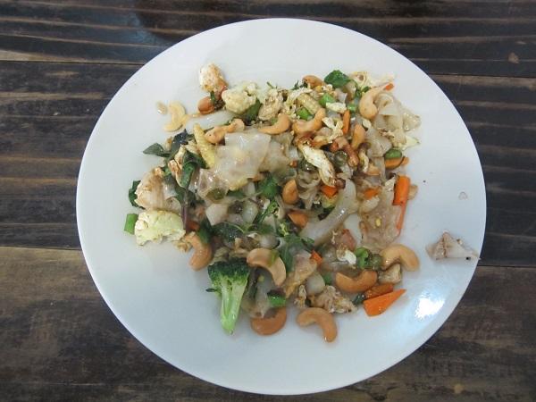 Thailändisches und philippinisches Essen