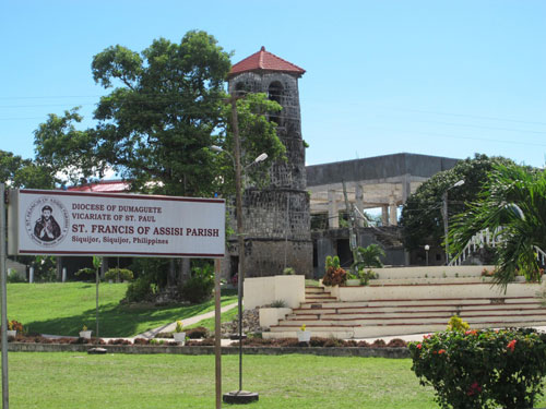 Siquijor hat einige historische Sehenswürdigkeiten aus der spanischen Kolonialzeit zu bieten.