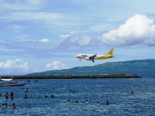 Landeanflug auf den Tropentraum Philippinen