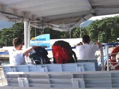 Rucksackreisen auf dem Seeweg