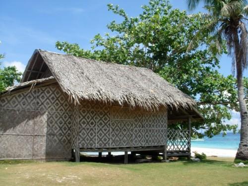 Kleines Cottag auf Pamilacan, Bohol