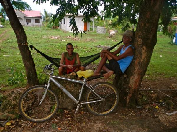 Mit dem Fahrrad auf Bantayan Island