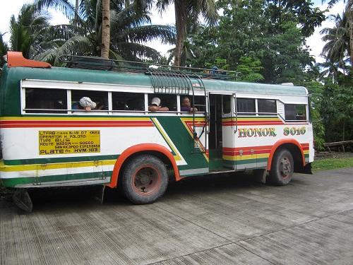 Bus auf Leyte