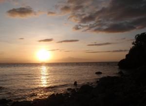 Sonnenuntergang auf Malapascua Island