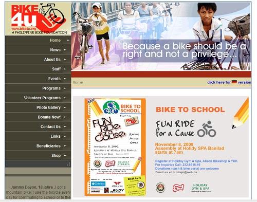 Fahrradspenden auf Bike4U