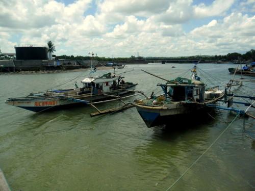 typisches philippinisches Boot