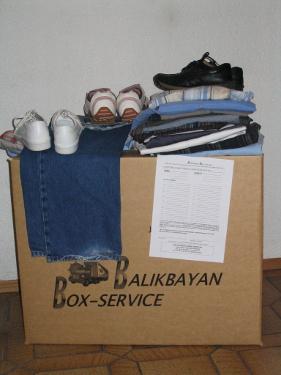 Gut geeignet für 2nd hand Kleidung,Haushaltswaren und Werkzeuge