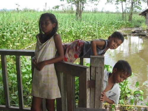 Fischerdorf Agusan Marsh