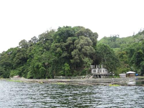 Eine wirklich malerische Seenlandschaft...