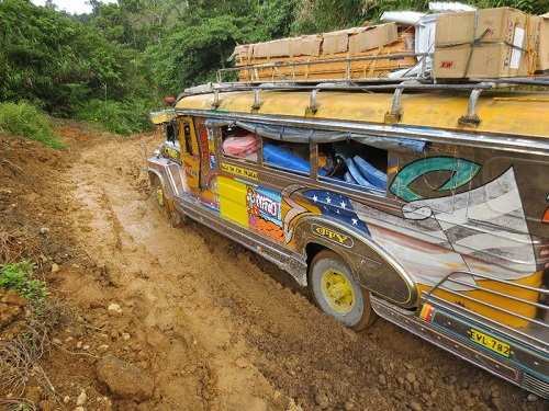 Jeepney Caramoan Island