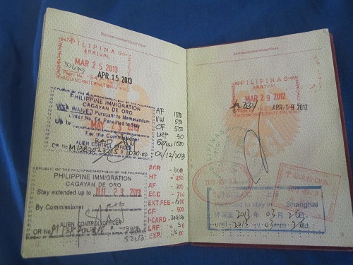 Philippinen Visa verlängern