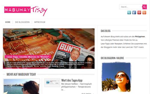 Mabuhay Tisay Homepage