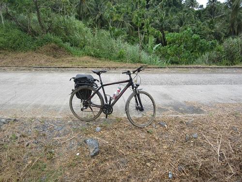 Mit dem Fahrrad in Dinagat