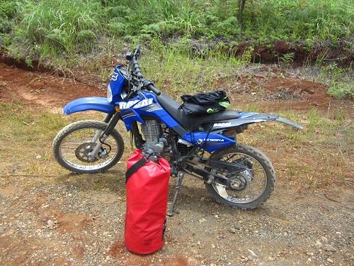 Motorradfahren auf Dinagat