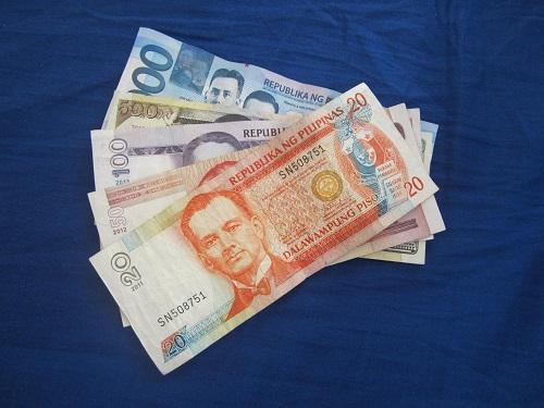 Philippinische Peso-Noten