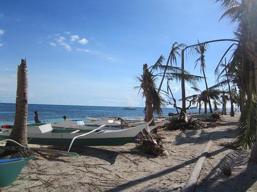 Malapascua nach Taifun Haiyan