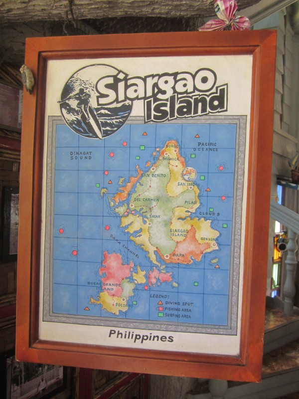 Siargao Map