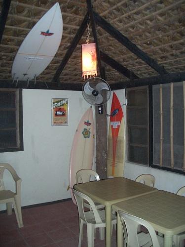 Restaurant für Surfer