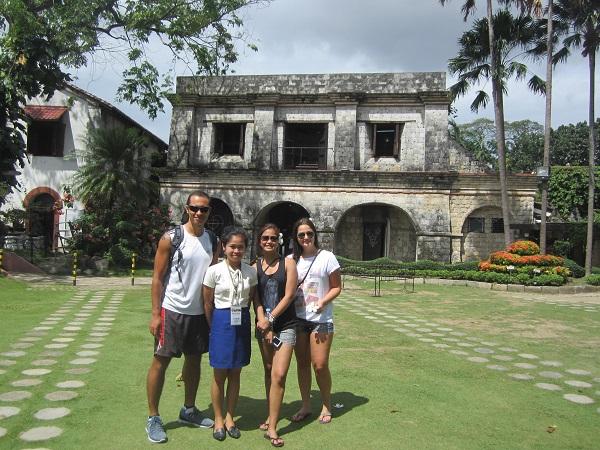 Innenhof Fort San Pedro