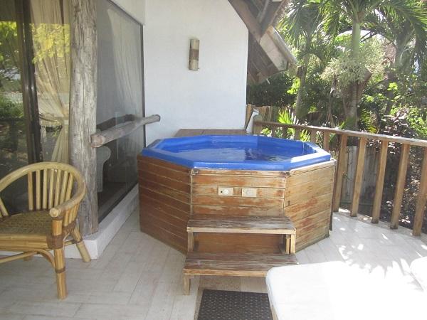 Zimmer mit Whirpool, Panglao Island Nature Resort