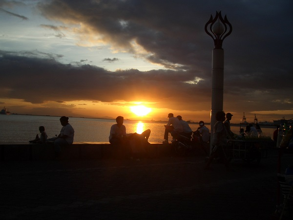 Manila Bay, sunset