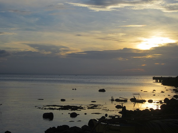 Sunset Limasawa Island