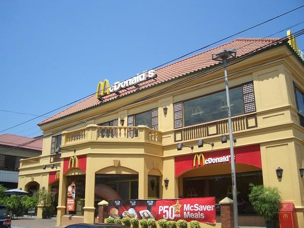 Mc Donald´s in Vigan City