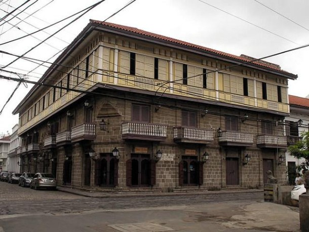 Casa-Manila-Museum in Intramuros (Manila, Philippinen)