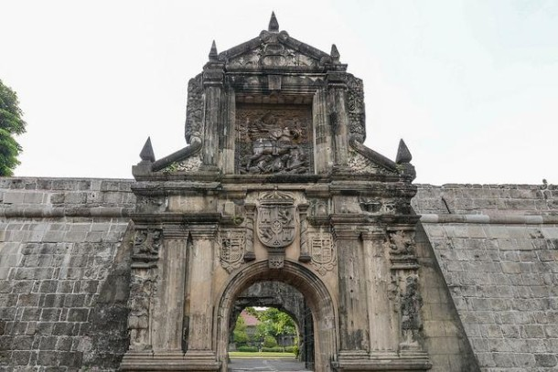 Fuerza de Santiago in Intramuros in Manila (Philippinen)