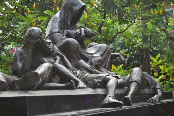 Massaker-von-Manila-Denkmal in Intramuros (Manila, Philippinen)