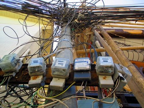 Unter Strom: Stromversorgung auf den Philippinen