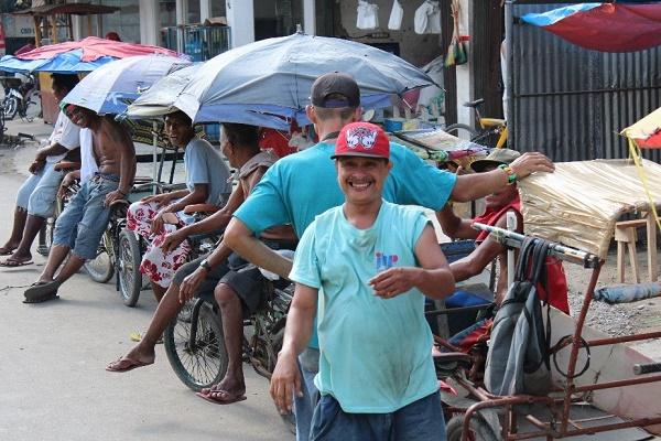 In den Straßen von Cebu City