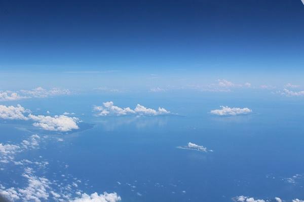 Über den philippinischen Wolken...