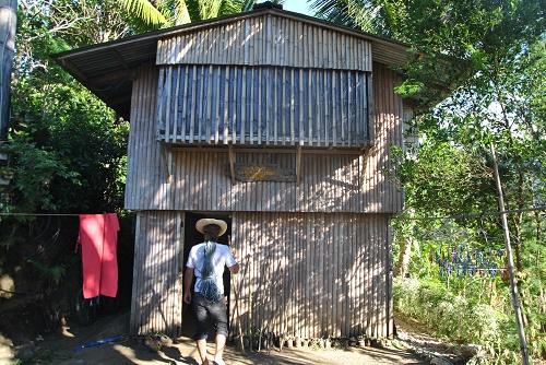 Schutzhütte: Die vom Iloilo Mountaineering Club betriebene Bergsteigerhütte in Igcabugao.