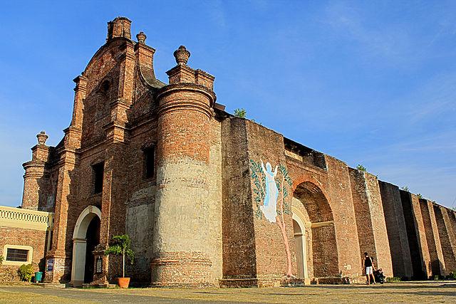 Church of Nuestra Señora de la Asuncion in der Gemeinde Santa Maria der Provinz Ilocos Sur